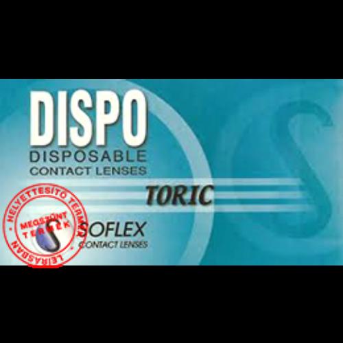 Dispo Toric 55 (3db) - havi lencse