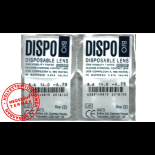 Dispo BIO (2x1db) - szilikon-hidrogél - kontaktlencse