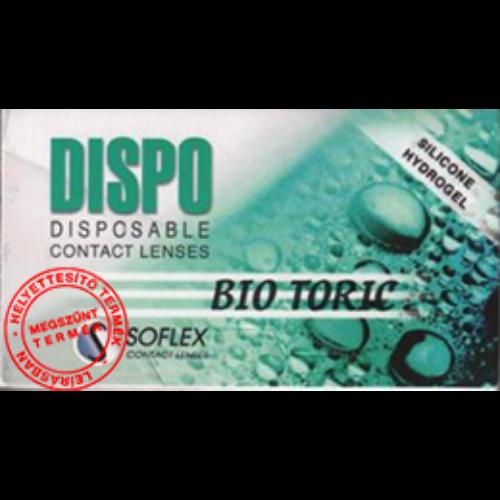 Dispo Bio Toric (3db) - szilikon-hidrogél lágy tórikus lencse