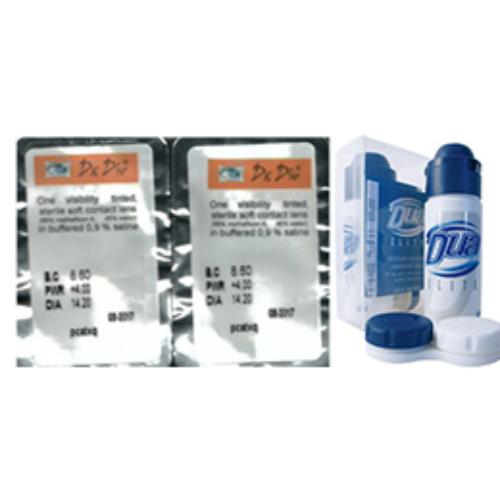 Drdio AC55 (2x1db) - kontaktlencse + 60 ml DUA Elite ápolószer