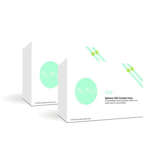DrDio AIR 2x6db szilikon- hidrogél