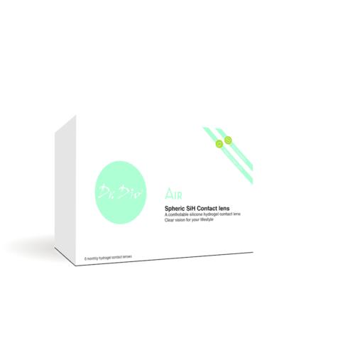 DrDio AIR 2x1 db szilikon- hidrogél