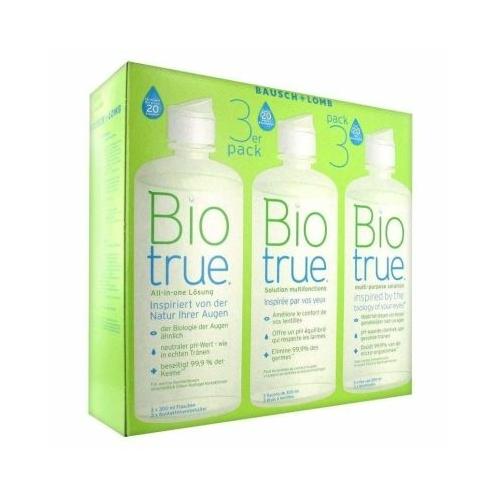 Biotrue 300 ml ápolószer 4 db - AKCIÓS