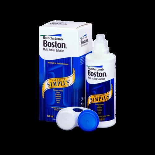 Boston® Simplus® kemény és oxigénáteresztő tároló és tisztító 120 ml