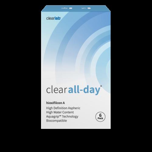 Clear All-day (6db) - havi kontaktlancse