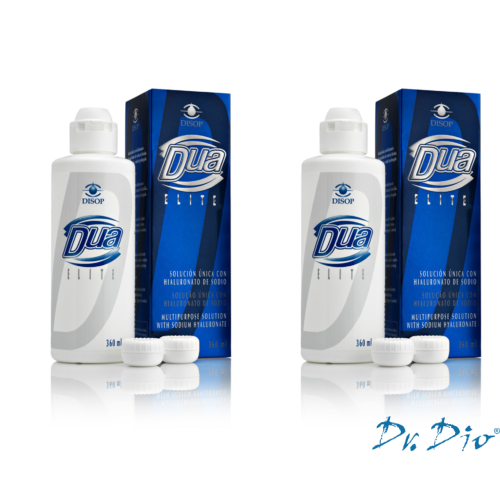 DUA Elite Ápolószer (360ml) + antibakteriális tok AKCIÓS ÁR! (4800,-Ft / 2 db!)
